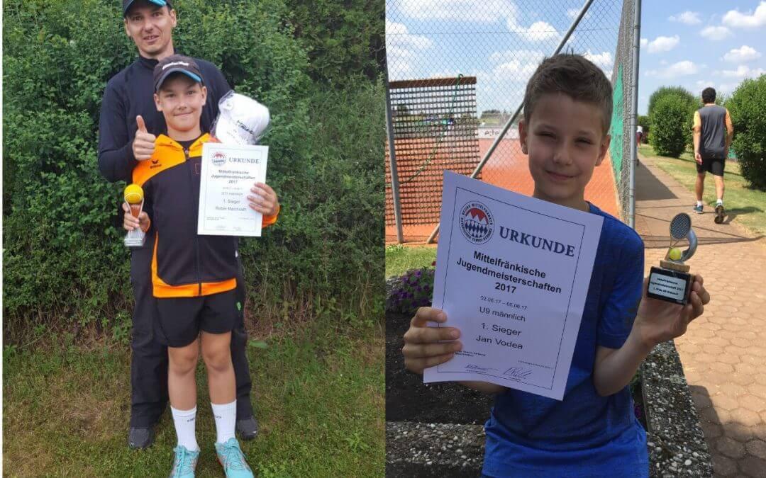 Mittelfränkische Jugendmeisterschaften vom 2.-5. Juni 2017
