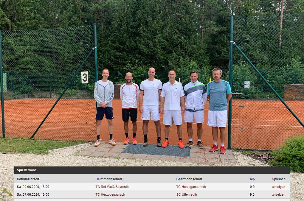 Dritter Spieltag H40 in der Landesliga